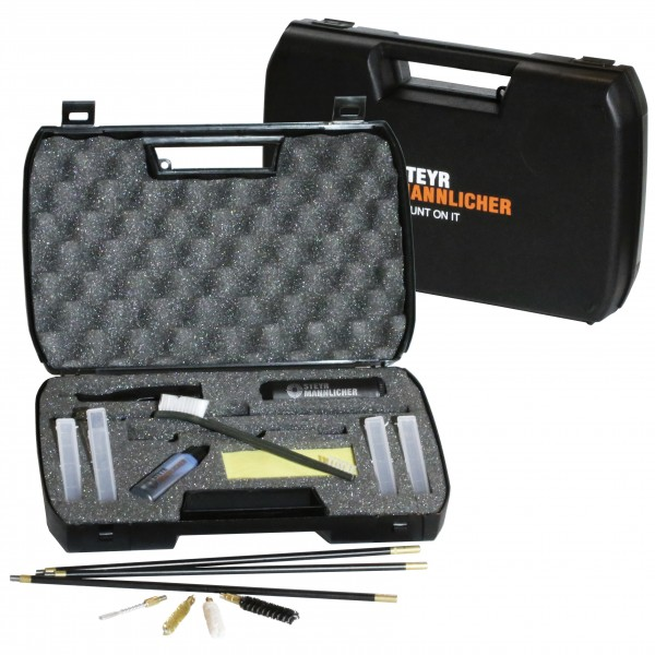 Rifle cleaning set
