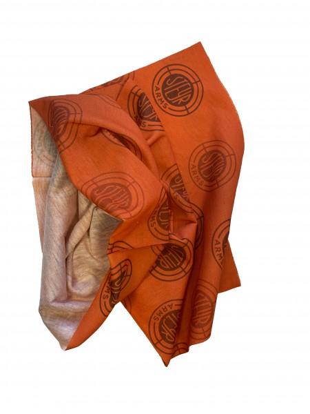 Multifunktionstuch orange