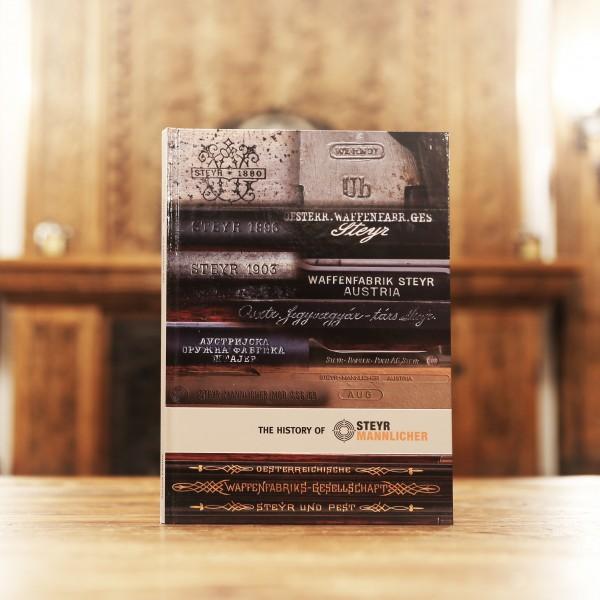 """Buch """"The history of STEYR MANNLICHER"""" (Englisch)"""