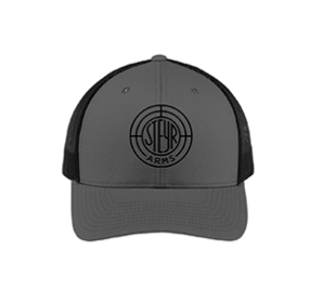 Steyr Arms Gray Embroidered Trucker Hat