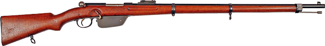 INTRODUCTION OF THE STRAIGHT-PULL REPEATING RIFLE M. 85