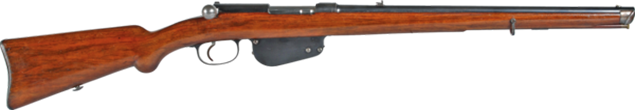 FIRST STRAIGHT-PULL HUNTING RIFLE M. 86
