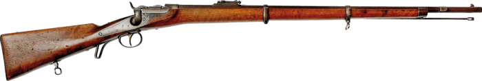 THE WERNDL-HOLUB BREECH-LOADING RIFLE BECOMES THE STANDARD RIFLE OF THE AUSTRIAN ARMY