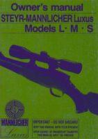 Owner's Manual STEYR MANNLICHER Luxus english