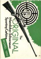 Owner's manual Mannlicher Schoenauer Modell 1950 english