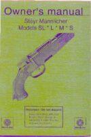 Owner's manual_STEYR MANNLICHER SL; L; M; S english